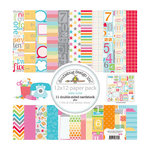 Doodlebug Design - Take Note Collection - 12 x 12 Paper Pack