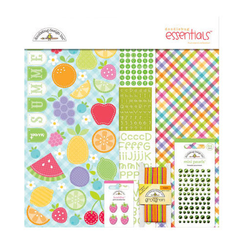 Doodlebug Design - Fruit Stand Collection - Essentials Kit