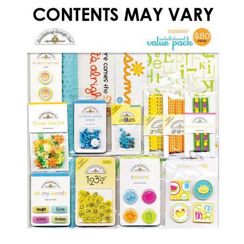 Doodlebug Design - Embellishment Value Pack - Summer