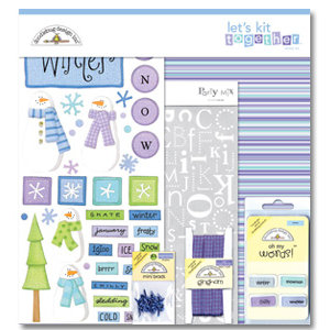 Doodlebug Design - Let's Kit Together - Winter