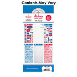 Doodlebug Design - Cardstock and Chipboard Stickers - Assortment Pack - 4th of July