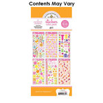 Doodlebug Design - Cardstock and Chipboard Stickers - Assortment Pack - Girl