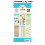 Doodlebug Design - Cardstock and Chipboard Stickers - Assortment Pack - Travel