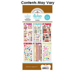 Doodlebug Design - Cardstock and Chipboard Stickers - Assortment Pack - Home