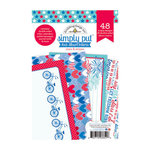 Doodlebug Design - Stars and Stripes Collection - 4 x 6 Album Inserts