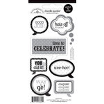 Doodlebug Design - Cap and Gown Collection - Cardstock Stickers - Quotes