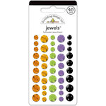 Doodlebug Design - Halloween Parade Collection - Jewels - Self Adhesive Rhinestones - Halloween