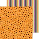 Doodlebug Design - Halloween Parade Collection - 12 x 12 Double Sided Paper - Jolly Jack-O-Lanterns