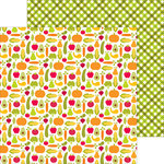 Doodlebug Design - Happy Harvest Collection - 12 x 12 Double Sided Paper - Garden Grown