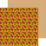 Doodlebug Design - Happy Harvest Collection - 12 x 12 Double Sided Paper - Autumn Leaves