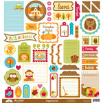 Doodlebug Design - Happy Harvest Collection - 12 x 12 Cardstock Stickers - This and That