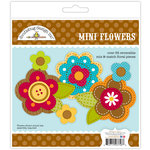 Doodlebug Design - Happy Harvest Collection - Mini Flowers Craft Kit