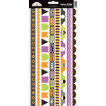 Doodlebug Design - Halloween Parade Collection - Cardstock Stickers - Fancy Frills