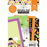 Doodlebug Design - Halloween Parade Collection - 4 x 6 Album Inserts