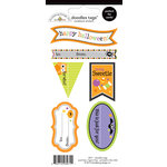 Doodlebug Design - Halloween Parade Collection - Cardstock Stickers - Tags