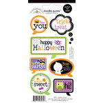 Doodlebug Design - Halloween Parade Collection - Cardstock Stickers - Quotes