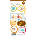 Doodlebug Design - Happy Harvest Collection - Cardstock Stickers - Quotes