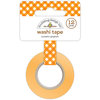 Doodlebug Design - Happy Camper Collection - Washi Tape - Pumpkin Gingham