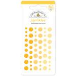 Doodlebug Design - Sprinkles - Self Adhesive Enamel Dots - Bumblebee