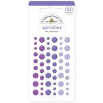 Doodlebug Design - Sprinkles - Self Adhesive Enamel Dots - Lilac