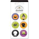 Doodlebug Design - Halloween Parade Collection - Flair Badges - Doodads