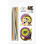 Doodlebug Design - Halloween Parade Collection - Pixies - Straw Picks
