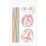 Doodlebug Design - Sugar Shoppe Collection - Pixies - Straw Picks