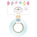 Doodlebug Design - Sugar Shoppe Collection - Washi Tape - Cupcakes