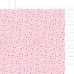 Doodlebug Design - Sugar Shoppe Collection - 12 x 12 Double Sided Paper - Cupcake Sprinkles
