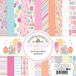 Doodlebug Design - Sugar Shoppe Collection - 6 x 6 Paper Pad