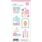 Doodlebug Design - Sugar Shoppe Collection - Cardstock Stickers - Mini Tags