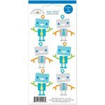 Doodlebug Design - Hip Hip Hooray Collection - Cardstock Stickers - Mini Icons - Robots