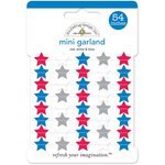 Doodlebug Design - Patriotic Parade Collection - Mini Garland