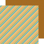 Doodlebug Design - Friendly Forest Collection - 12 x 12 Double Sided Paper - Fall Festival