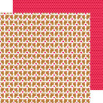 Doodlebug Design - Santa Express Collection - Christmas - 12 x 12 Double Sided Paper - Baby Deer
