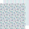 Doodlebug Design - Frosty Friends Collection - Christmas - 12 x 12 Double Sided Paper - Frosty Friends