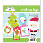 Doodlebug Design - Santa Express Collection - Christmas Tags Craft Kit