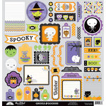 Doodlebug Design - Ghouls and Goodies Collection - Halloween - 12 x 12 Cardstock Stickers - This and That