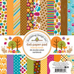 Doodlebug Design - Friendly Forest Collection - 6 x 6 Paper Pad