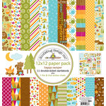 Doodlebug Design - Happy Camper Collection - 12 x 12 Paper Pack