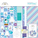 Doodlebug Design - Frosty Friends Collection - Christmas - Essentials Kit