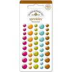 Doodlebug Design - Sprinkles - Self Adhesive Enamel Dots - Fall