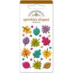 Doodlebug Design - Sprinkles - Self Adhesive Shapes - Falling Leaves