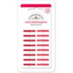 Doodlebug Design - Mini Clothespins - Ladybug