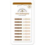 Doodlebug Design - Mini Clothespins - Bon Bon