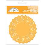 Doodlebug Designs - Paper Doilies - Tangerine
