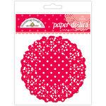 Doodlebug Designs - Paper Doilies - Polka Dot - Ladybug