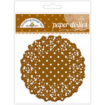 Doodlebug Designs - Paper Doilies - Polka Dot - Bon Bon