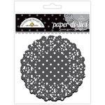 Doodlebug Designs - Paper Doilies - Polka Dot - Beetle Black