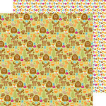 Doodlebug Design - Happy Camper Collection - 12 x 12 Double Sided Paper - Campground Critters
